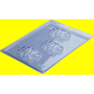 Forma de Acetato Pirulito Papai Noel Ref 602 - Porto Formas - Rizzo Embalagens
