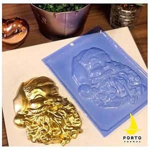 Forma de Acetato Rosto Papai Noel Ref 601 - Porto Formas - Rizzo Embalagens