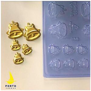 Forma de Acetato Sinos Aplique Ref 456 - Porto Formas - Rizzo Embalagens