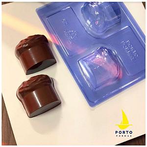 Forma Especial Chocotone P - Ref 82 - Porto Formas - Rizzo Embalagens