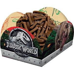Porta Forminha para Doces Festa Jurassic World - 40 unidades - Festcolor - Rizzo Festas
