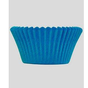 Mini Forminha Forneável CupCake Azul com 54 un. - UltraFest