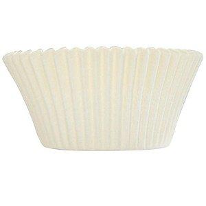 Forminha Forneável CupCake Branco com 57 un. - UltraFest