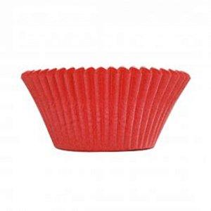 Mini Forminha Forneável CupCake Vermelho com 54 un. - UltraFest
