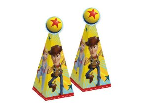 Caixa Cone Festa Toy Story - 8 unidades - Regina - Rizzo Festas