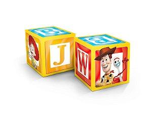 Cubo Decorativo Festa Toy Story 4 - 3 unidades - Regina - Rizzo Festas