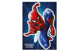 Personagem Decorativo Festa Spider Man - Regina - Rizzo Festas