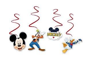 Mobile em Espiral Festa Mickey - 04 Unidades - Regina - Rizzo Festas