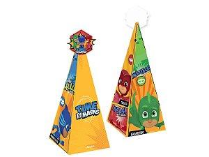 Caixa Cone Festa PJ Masks - 8 Unidades - Regina - Rizzo Festas