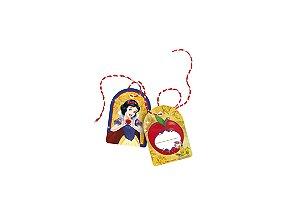 Tag com Cordão Festa Branca de Neve - 8 Unidades - Regina - Rizzo Festas