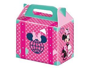 Caixa Surpresa Festa Minnie Rosa - 8 Unidades - Regina - Rizzo Festas