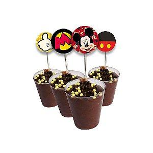 Copinho com Enfeite para Doces Festa Mickey - 10 Unidades - Regina - Rizzo Festas