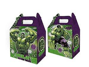 Caixa Surpresa Cubo Festa Vingadores Hulk - 08 unidades - Regina - Rizzo Festas