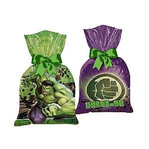 Sacola Surpresa Festa Vingadores Hulk - 8 Unidades - Regina - Rizzo Festas
