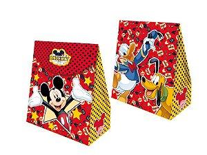 Caixa Surpresa Cubo Festa Mickey - 08 unidades - Regina - Rizzo Festas