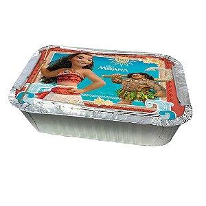 Marmitinha com Tampa Festa Moana - 8 unidades - Regina - Rizzo Embalagens