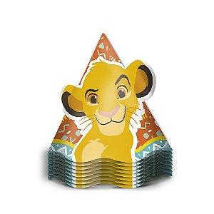 Chapéu Festa Rei Leão - 8 unidades - Regina - Rizzo Festas