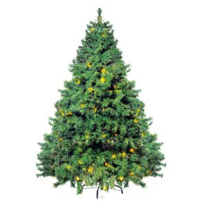 Árvore Cordoba com Leds - 210cm - 01 unidade - Cromus Natal -Rizzo Embalagens