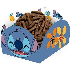 Porta Forminha para Doces Festa Stitch - 40 unidades - Festcolor - Rizzo Festas