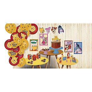 Kit Festa Pooh e Sua Turma - Festcolor - Rizzo Festas