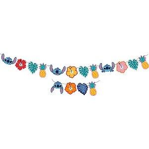 Faixa Decorativa Festa Stitch - Festcolor - Rizzo Festas