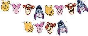 Faixa Decorativa Festa Pooh e Sua Turma - Festcolor - Rizzo Festas