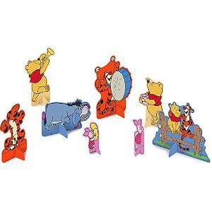 Decoração de Mesa Festa Pooh e sua Turma - 8 unidades - Festcolor - Rizzo Festas