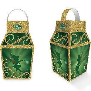 Caixa Lanterna Festa Fadas Disney - 8 unidades - Festcolor - Rizzo Festas