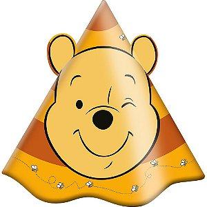 Chapéu Festa Pooh e Sua Turma - 08 Unidades - Festcolor - Rizzo Embalagens