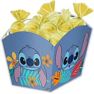 Cachepot Festa Stitch - 8 unidades - Festcolor - Rizzo Festas