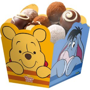 Cachepot Festa Pooh e sua Turma - 8 unidades - Festcolor - Rizzo Festas