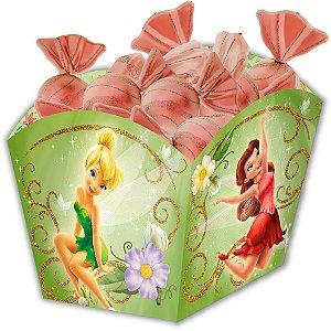 Cachepot Festa Fadas Disney - 8 unidades - Festcolor - Rizzo Festas