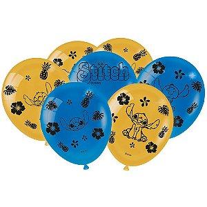 Balão Festa Stitch - 25 unidades - Festcolor - Rizzo Festas