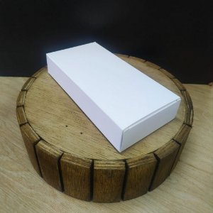Caixa para Tablete de Chocolate - N°3 Branco - Rizzo Embalagens