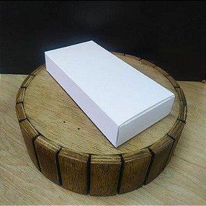 Caixa para Tablete de Chocolate - N°2 Branco - Rizzo Embalagens