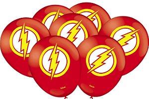 Balão Especial Festa Flash - 25 unidades - Festcolor - Rizzo Festas