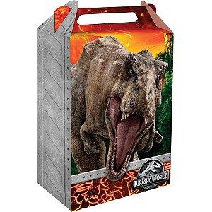 Caixa Surpresa Festa Jurassic World - 8 unidades - Festcolor - Rizzo Festas