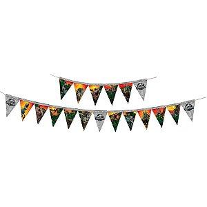 Faixa Decorativa Festa Jurassic World - Festcolor - Rizzo Festas