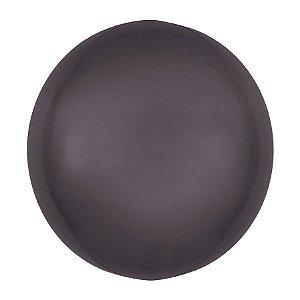 Balão de Festa Bubble - Metal Preto - 01 Unidade - Cromus - Rizzo Embalagens