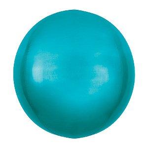Balão de Festa Bubble - Metal Azul - 01 Unidade - Cromus - Rizzo Embalagens
