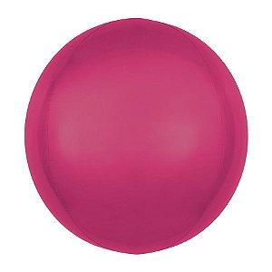Balão de Festa Bubble - Metal Marsala - 01 Unidade - Cromus - Rizzo Embalagens