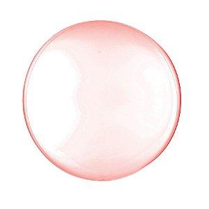 Balão de Festa Bubble - Clear Vermelho - 01 Unidade - Cromus - Rizzo Embalagens