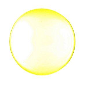 Balão de Festa Bubble - Clear Amarelo - 01 Unidade - Cromus - Rizzo Embalagens