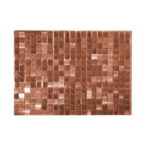 Painel Mágico Shimmer Wall - 87cm x 62,5cm - Rose Gold - Cromus - Rizzo Embalagens