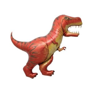 """Balão de Festa Microfoil 47"""" 120cm - Dinossauro T Rex - 01 Unidade - Qualatex - Rizzo Embalagens"""