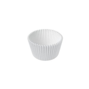 Forminha de Papel Branco N°5 - 100 unidades - Junco - Rizzo Embalagens
