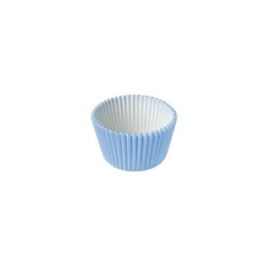 Forminha de Papel Azul Claro N°4 - 100 unidades - Junco - Rizzo Embalagens