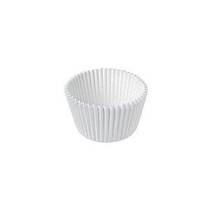 Forminha de Papel Branca N°1 - 100 unidades - Junco - Rizzo Embalagens