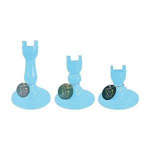 Base Pé Boleira - Azul Claro Candy - Só Boleiras - Rizzo Embalagens
