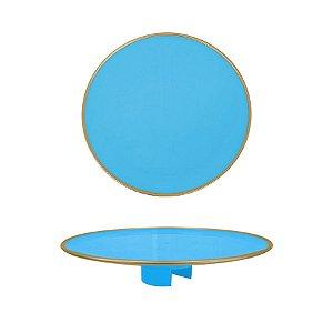 Tampo Boleira - Azul Céu Filete - Só Boleiras - Rizzo Embalagens